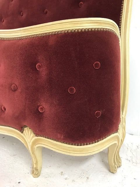 SOLD - Vintage King Size French Bed -  Great Quality Frame -ba191